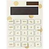 Kate Spade New York Gold Dot Calculator