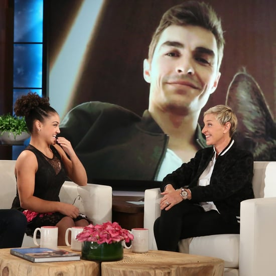 Laurie Hernandez Talking About Dave Franco on The Ellen Show
