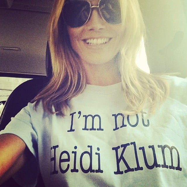 We Need to Know the Backstory Behind These Heidi Klum Pictures