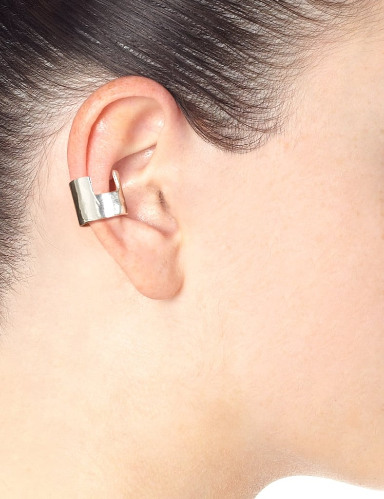 Bjørg Silver Piece of Wonder Earpiece