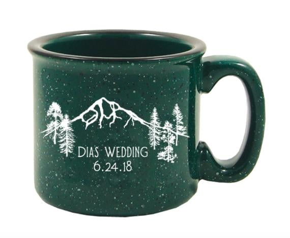 Custom Design of Mount Hood Forest Mug