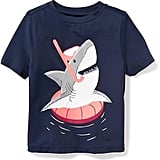 Shark-Snorkeler Graphic Rashguard