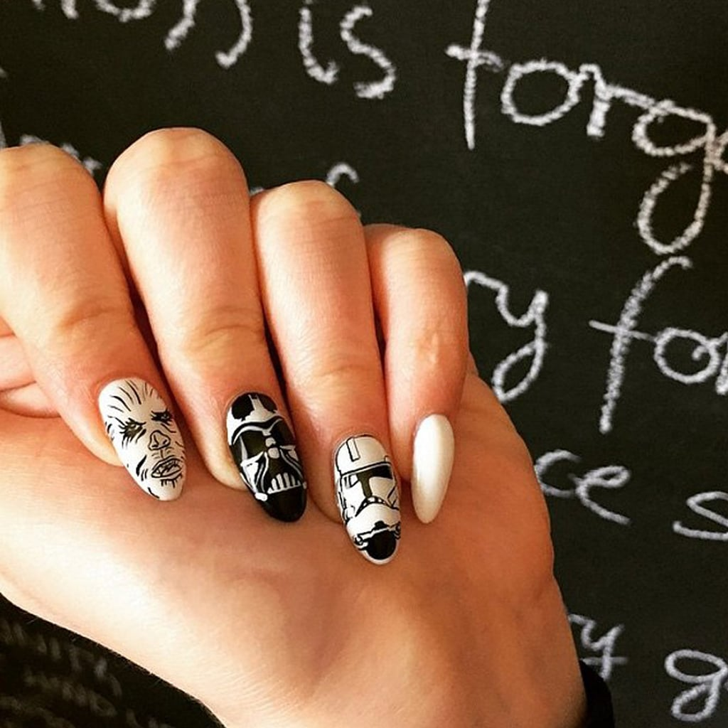 Nail Art Ideas: Star Wars Nail Art Ideas