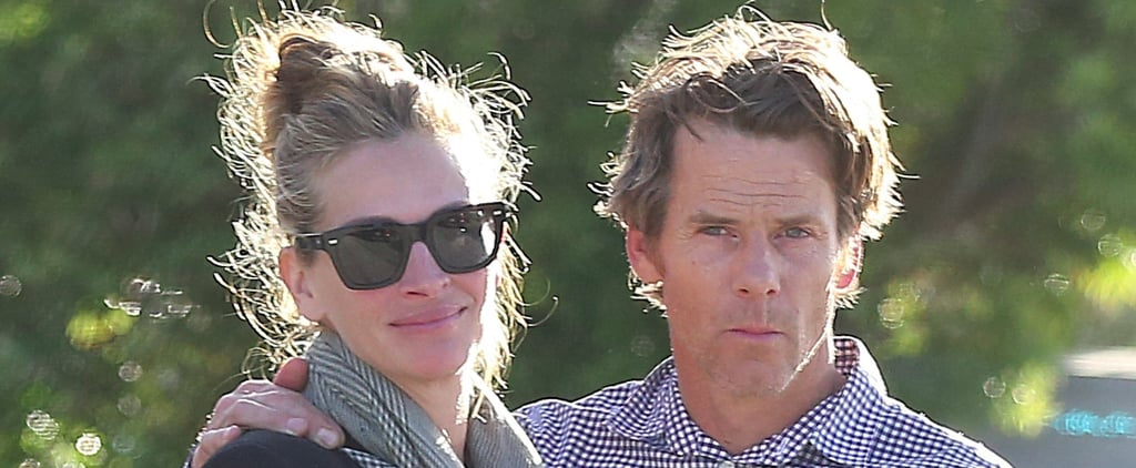 Julia Roberts Cuddles Up to Danny Moder Ahead of Their 15th Wedding Anniversary