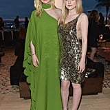 The sisters attended The Hollywood Reporter and Jimmy Choo Power Stylists Dinner in 2018.