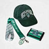 Slytherin Hat, Wallet & Lanyard Gift Set