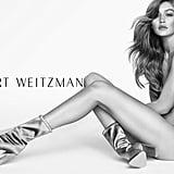 Gigi Hadid's Original Stuart Weitzman Campaign Photo
