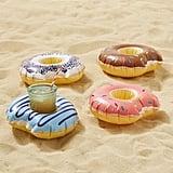 Donut Drink Holder Pool Float Set ($24)