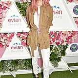 Mary Charteris at Day 1 of Wimbledon