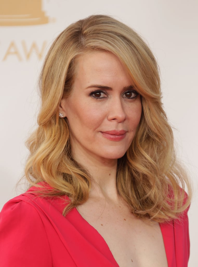 What can we say about Sarah Paulson, except that she has the blowout that we want?
