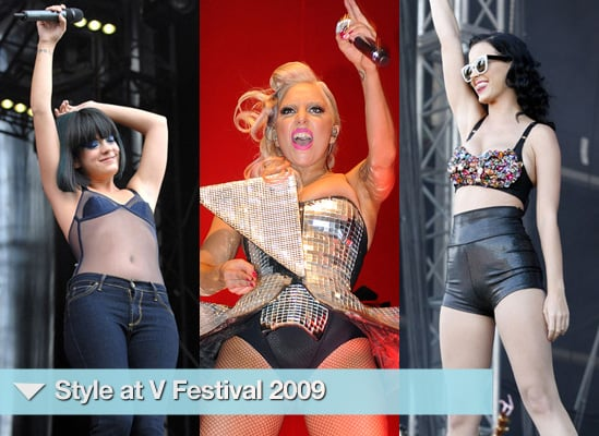 Photos of Lady GaGa, Katy Perry, Lily Allen, Pixie Lott, Billie Piper at V Festival 2009