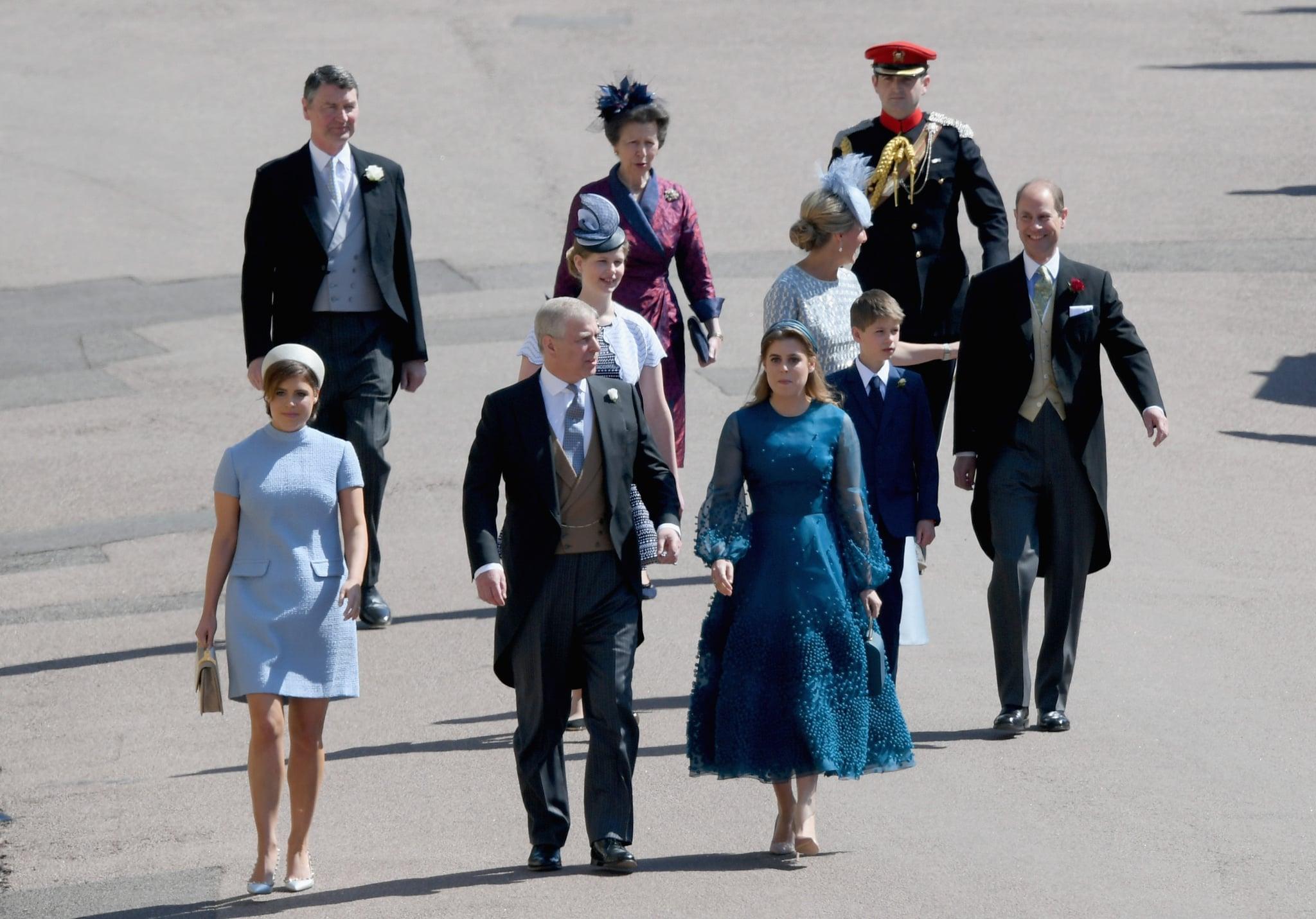 Princess Eugenie Prince Andrew Princess Beatrice And Princess