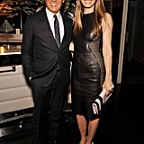 Jessica Biel and Joe Zee attended the Fashion Media Awards in NYC.