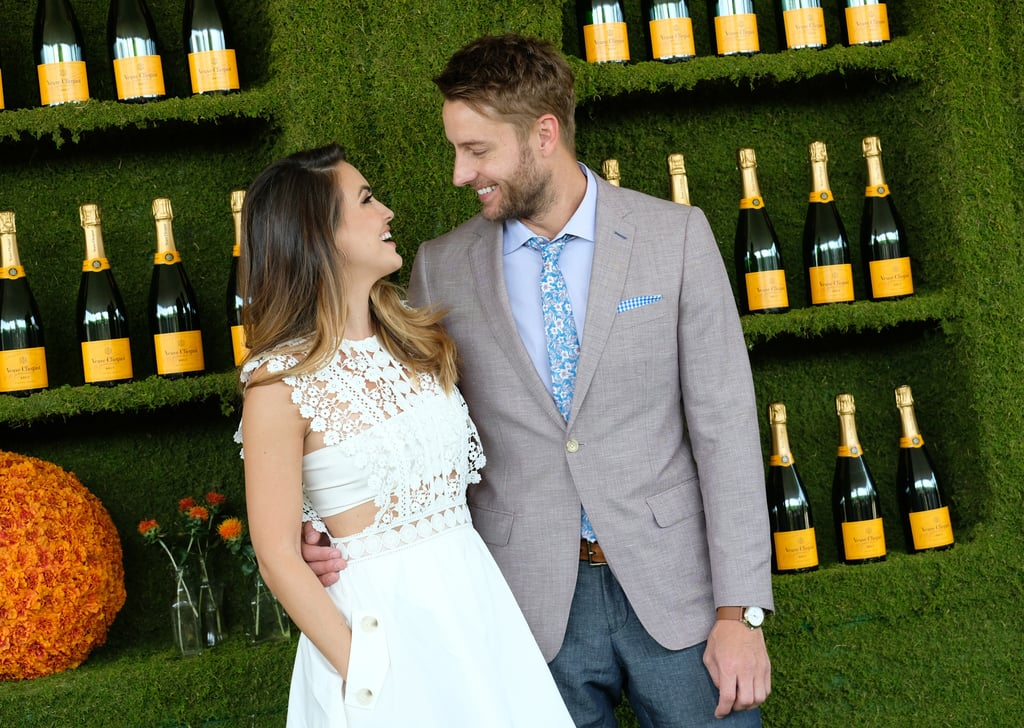 """Justin Hartley tied the knot with soap star Chrishell Stause in a romantic ceremony on Oct. 29, but the two have been making us swoon since long before then. The former Young and the Restless costars first struck up a romance in 2014 and got engaged nearly two years later. Prior to their nuptials, Justin opened up about finding love with Chrishell during an appearance on Harry Connick Jr.'s show back in March. """"It's a special thing, isn't it, that when you find that one person,"""" Justin said. """"Some people are like, 'Oh, there's one person for everyone.' But when you meet that one person, you realize like, 'What the hell have I been doing my whole life?' This is the person."""" Aw! Take a look at some of Justin and Chrishell's sweetest moments together.      Related:                                                                                                           Prepare to Be Completely Shocked by Justin Hartley's Real Age"""