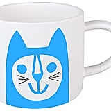Jane Foster Blue Cat Mini Mug (£10)