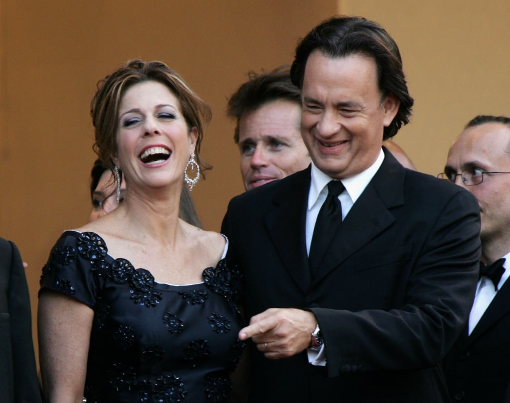 Rita Wilson and Tom Hanks in 2006