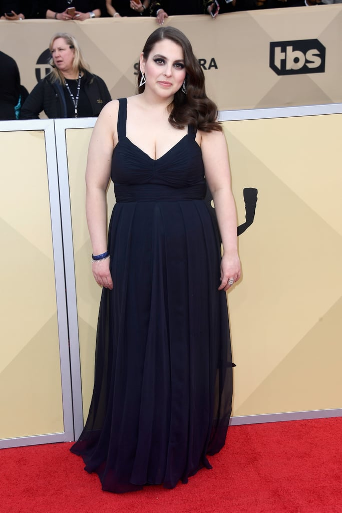 Lady Bird Star Beanie Feldstein Wore Her Prom Dress to the SAG Awards, Is an Icon