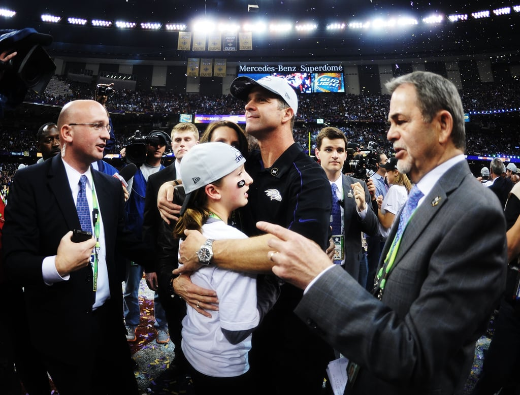 John Harbaugh and Alison