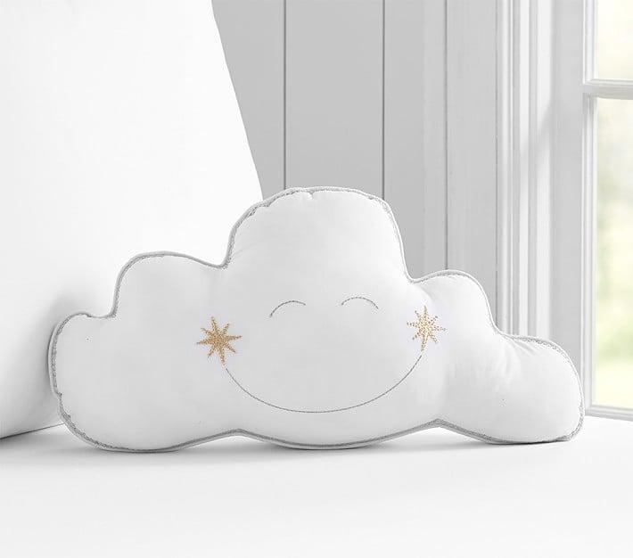 Cloud Decorative Pillow Pottery Barn Kids Nursery Items Popsugar