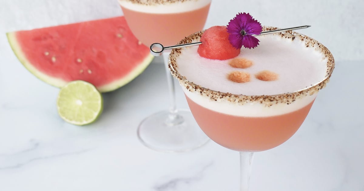 "Creamy and Delicious, This Smoky Melon Pisco Sour Is Perfect For Every Day That Ends in ""Y"""