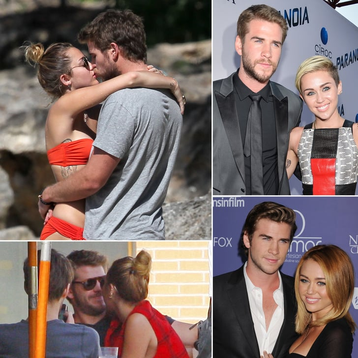 These Cute Photos of Miley Cyrus and Liam Hemsworth Will Slap a Smile on Your Face