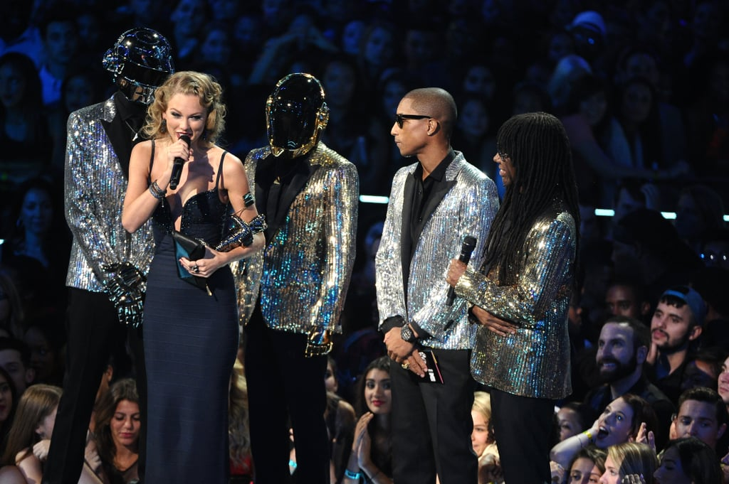 "Taylor Swift accepted an award at the MTV VMAs, giving a shout-out to the ex who inspired ""I Knew You Were Trouble."""
