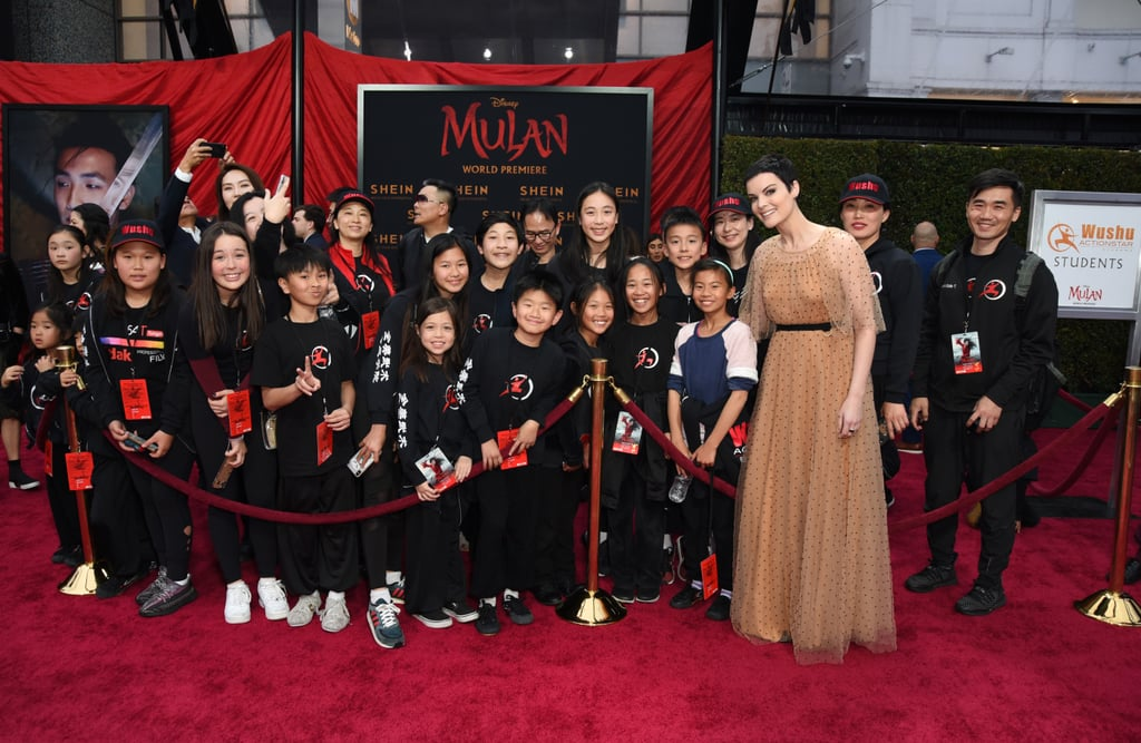 Jaimie Alexander at the World Premiere of Mulan in LA