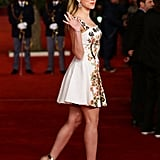 Scarlett made a special appearance at the premiere of Her at the Rome Film Festival in November 2013.