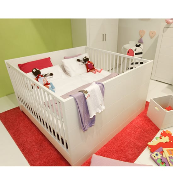 mini meise twin crib modern crib options popsugar moms photo 1. Black Bedroom Furniture Sets. Home Design Ideas