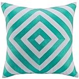 "Kas Designs ""Lenny"" Diamond Print Accent Pillow ($50)"