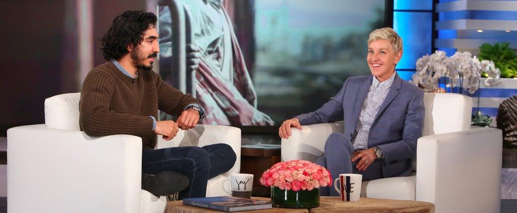 Dev Patel on The Ellen DeGeneres Show January 2017