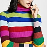Milly Rib Turtleneck Pullover
