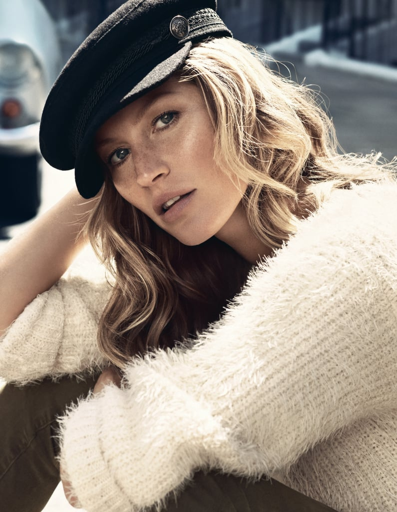 Gisele Bündchen photographed by Lachlan Bailey for H&M's Autumn 2013 campaign. Photo courtesy of H&M