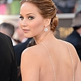 Jennifer Lawrence's Chopard Necklace in 2013