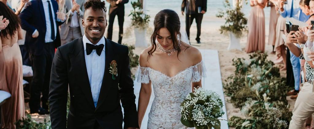 Shanina Shaik's Wedding Dress