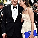 Pictured: Colin Firth and Livia Firth