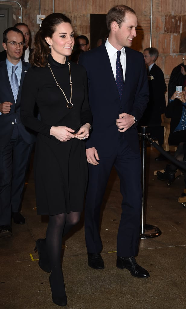 Kate Entered the Creativity Is GREAT Reception in a Seraphine Turtleneck Dress