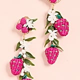 Mercedes Salazar Tropics Strawberry Earrings