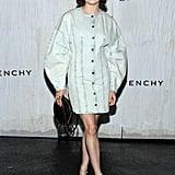 Maisie Williams at Givenchy's Paris Fashion Week Show