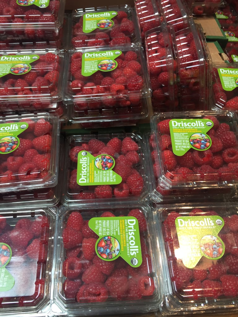 Best Whole Foods Product: Organic Driscoll's Raspberries ($3-$6 — price varies due to season)