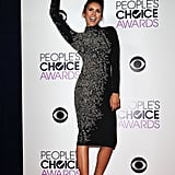 Nina Dobrev Hoisted Her People's Choice Award in the Air
