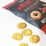 Pressels Thin and Crispy Pretzel Chips in Sriracha