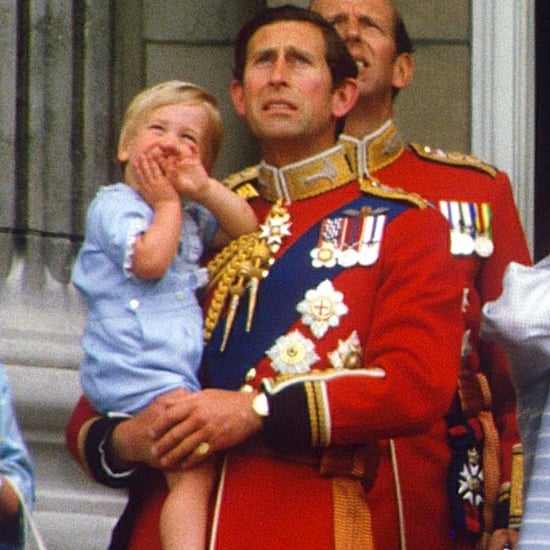 Prince George vs. Prince William's First Trooping the Colour