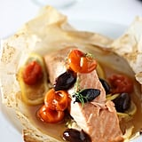 Salmon En Papillote With Cherry Tomatoes and Fennel