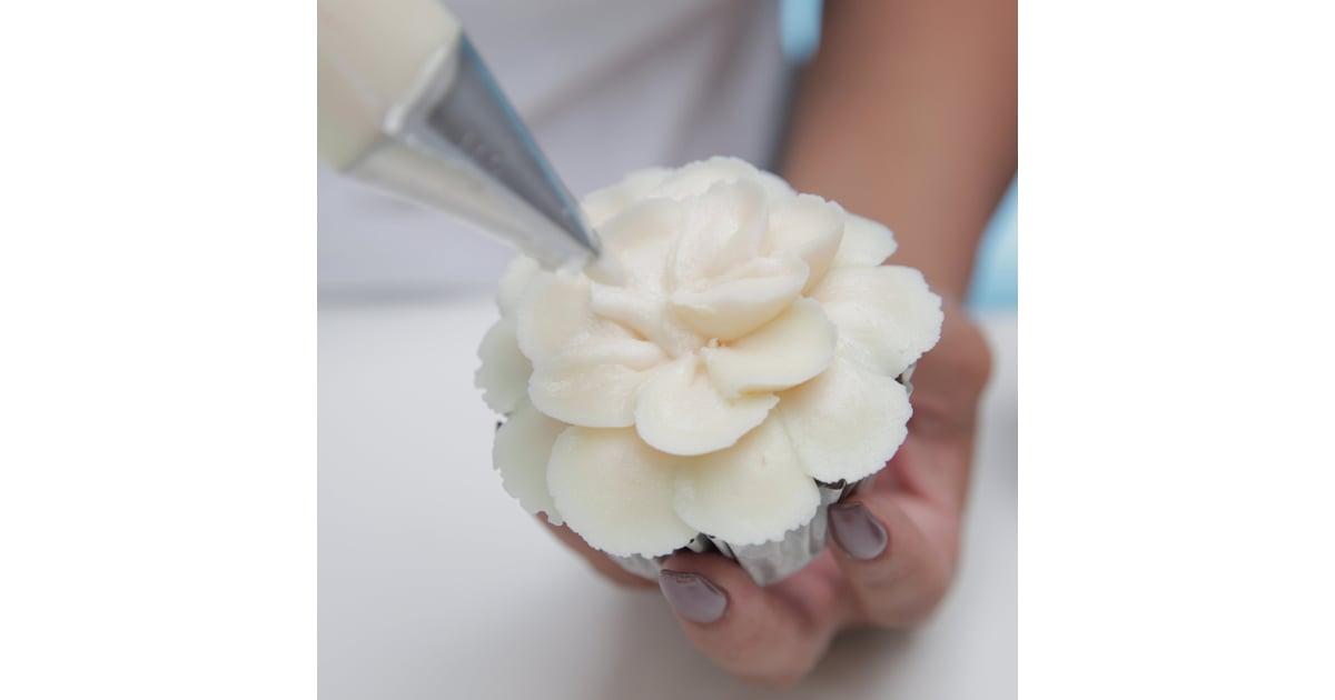 Magnolia Bakery Hibiscus Flower Cupcakes How To Popsugar Food