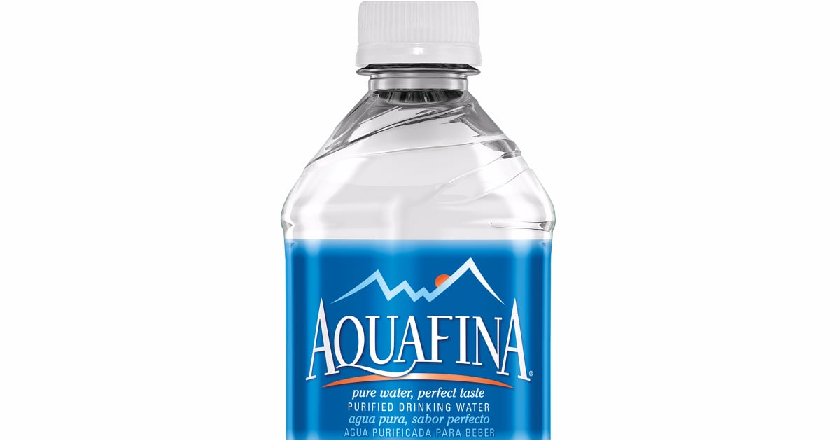 1b5a4e0a4a Aquafina Bottle Water Comes From Tap | POPSUGAR Fitness