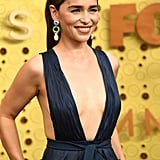 Emilia Clarke at the 2019 Emmy Awards