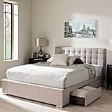 Furniture Rene 4-Drawer Queen Storage Platform Bed