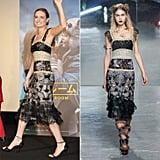 Brie Larson Wearing Rodarte Fall '16