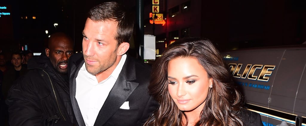 Demi Lovato and UFC Fighter Luke Rockhold Seemingly Confirm Their Romance by Holding Hands